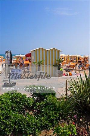 Jesolo Lido Beach, Venice, Veneto, Italien
