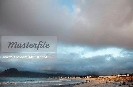 Plage de Kommetje, Kommetje, Province du Western Cape, en Afrique du Sud