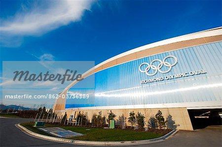 Kanada, British Columbia, Vancouver, Richmond, Richmond Oval Geschwindigkeit Eislauf Olympia-Ort