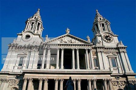 Angleterre, Londres. Cathédrale Saint-Paul Londres