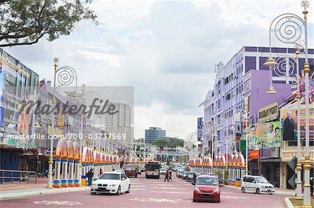 Indien territoire fédéral de voisinage, Kuala Lumpur, Malaisie Kuala Lumpur, Malaisie occidentale,