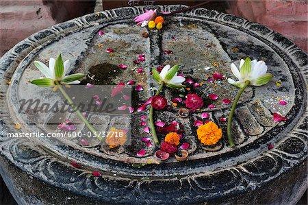 Buddha Footprint, Mahabodhi Temple, Bodh Gaya, Gaya District, Bihar, India