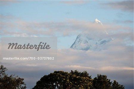 Machapuchare View From Pokhara, Pokhara Valley, Gandaki Zone, Pashchimanchal, Nepal