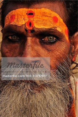 Sadhu, Varanasi, Varanasi District, Uttar Pradesh, India