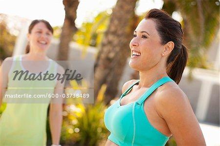 Frauen, Long Beach, Los Angeles County, Kalifornien, USA