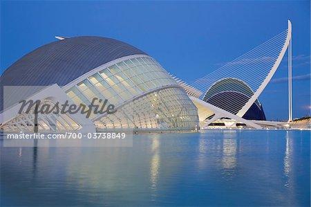 L'Hemisferic, Stadt der Künste und Wissenschaften, Valencia, Spanien
