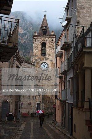 Church, Isnello, Sicily, Italy