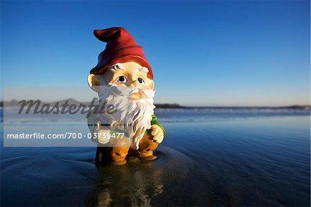 Gnome at Beach