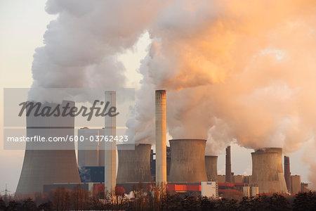 Niederaussem Power Station, North Rhine-Westphalia, Germany