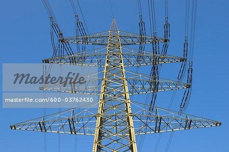Power Lines, Hesse, Germany