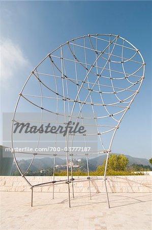 'That Profile' Sculpture, Getty Center, Los Angeles, California
