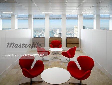 Rot Arne Jacobsen Schwan Sessel Legen Um Tabellen Stadtturm