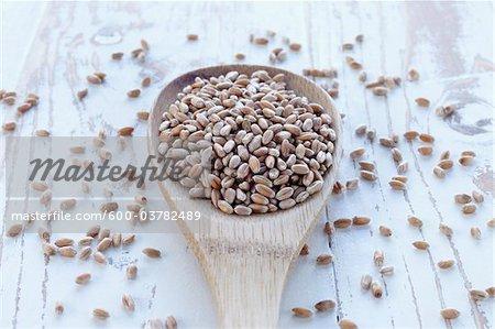Cuillerée de céréales