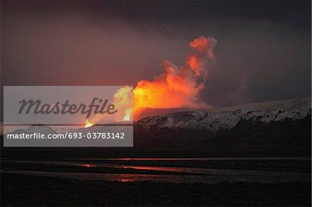 Thorsmšrk, Fimmvšrduhalsi éruption, Islande