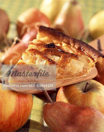 Gibaldipontine Apfel und Birne Torte
