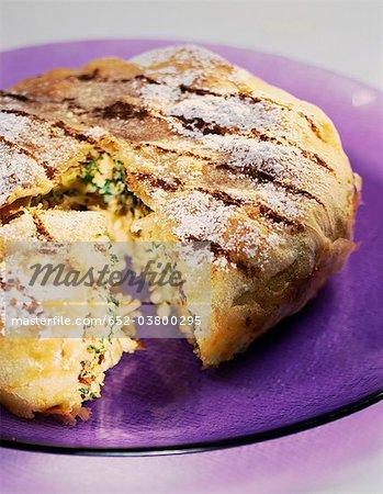 Poulet et coriandre Pastilla