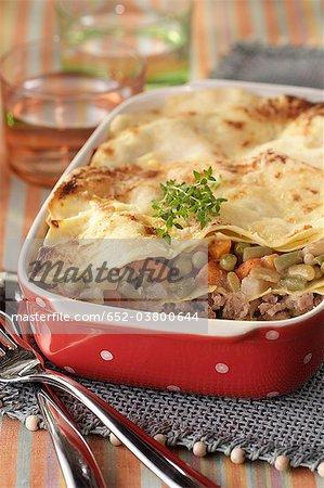 Lasagnes à la macedoine