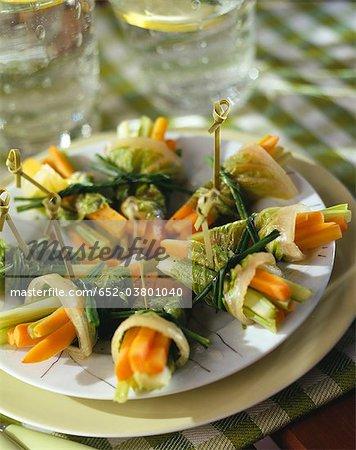 Faisceaux de légumes