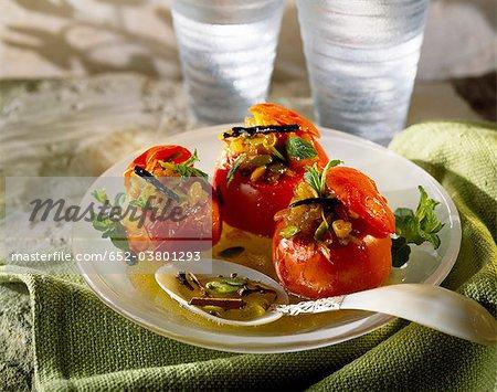 Douze à saveur de tomates farcies