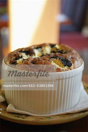 Truffle soufflé