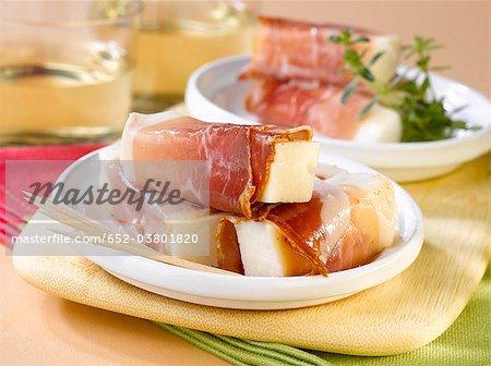 Speck et fromage Involtini