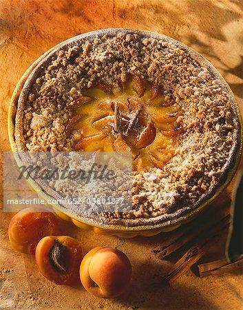 Tarte aux abricot de Streusel