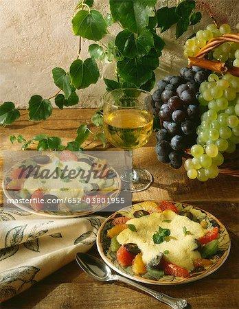 Semoule aux fruits mélangés