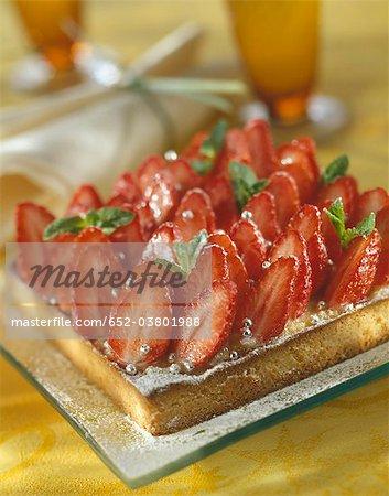 Tarte aux fraise