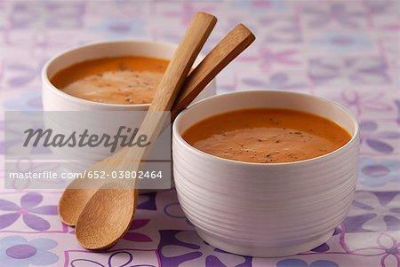 Crème de carotte