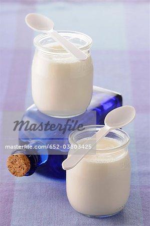 Joghurt Orange-Blüte