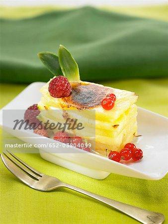 Lasagnes de fruits