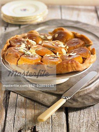 Golden apple Tarte Tatin
