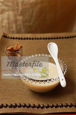 Soupe de céleri et le poireau