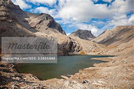 Headwall Seen in Kananaskis Range, Rocky Mountains, Peter Lougheed Provincial Park, Alberta, Kanada