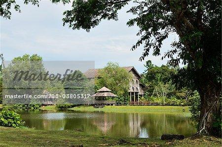 Sarawak Cultural Village, Sarawak, Borneo, Malaysia