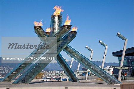 Olympic Cauldron, Vancouver Convention Centre Plaza, Vancouver, British Columbia, Canada