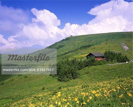 Kirigamine, Nagano, Japan