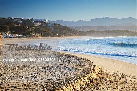 Plettenberg Bay beach at dawn, Western Cape, South Africa
