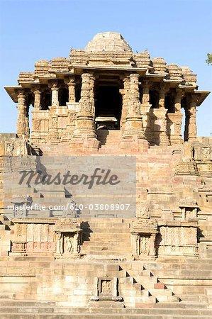 India, state of Gujerat, Modhera, temple of Surya