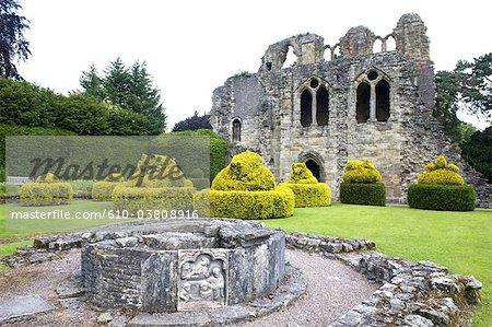 Angleterre, Shropshire, beaucoup de Wenlock, prieuré, chapelle St Michael