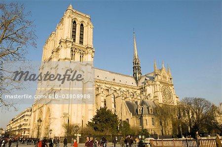 France, Paris, rue Notre-Dame
