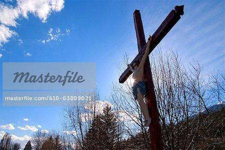 Crucifix de Provence, Jausiers, France