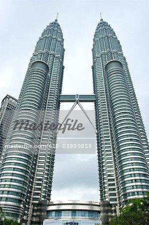 Malaisie, Kuala Lumpur, Petronas towers