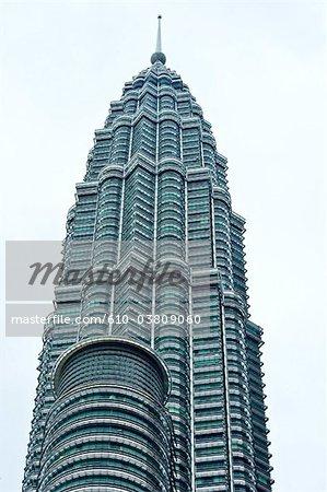 Malaisie, Kuala Lumpur, une des tours Petronas