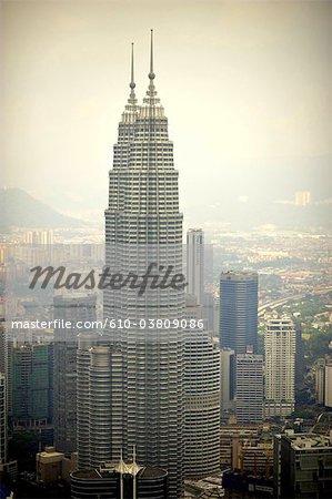 Tours Petronas de Kuala Lumpur, Malaisie