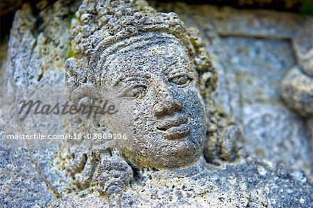 Indonésie, Yogyakarta, Java, Prambanan temple, statue