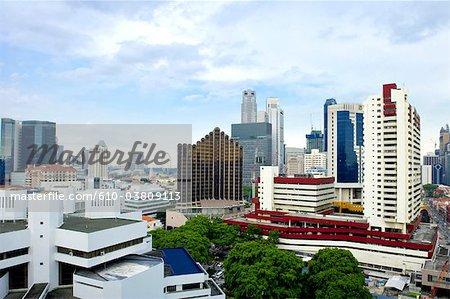 Singapour, bâtiments