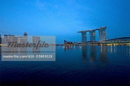 Singapour, marina bay sands