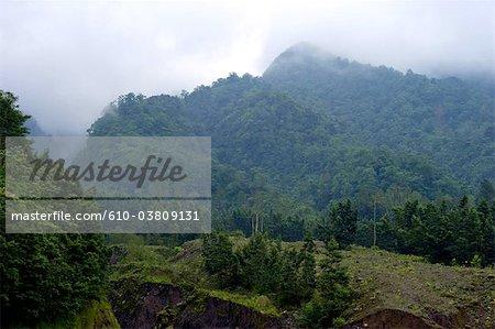 Indonesia, Java, mount Merapi