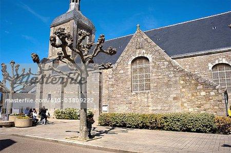 France, Pays de la Loire, Piriac-sur-Mer, church